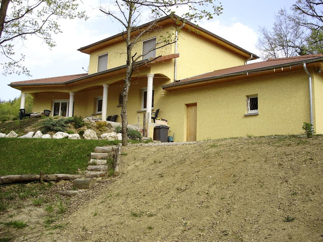 Maison de 130 m avec 1 tage maisons lm constructeur for Constructeur de maison 54