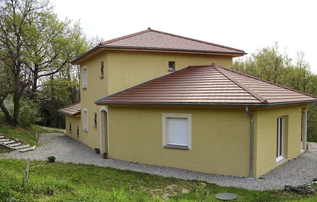 Maison de 130 m avec 1 tage maisons lm constructeur for Constructeur de maison individuelle avec terrain