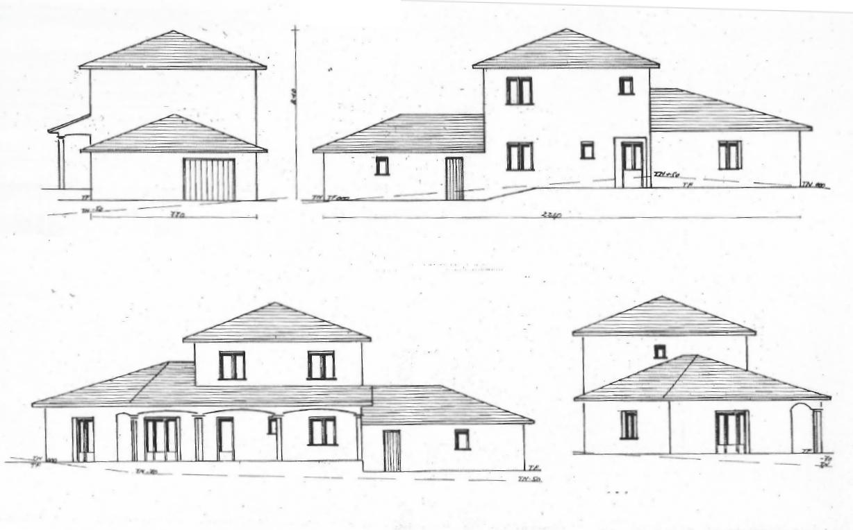 Plan maison avec etage plan maison meubl maison tage 1 for Plan maison 2 etages moderne