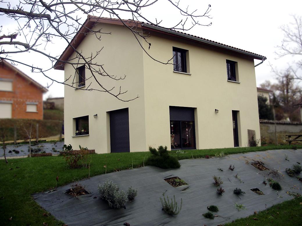 Maison avec un tage maisons lm constructeur de - Probleme avec constructeur maison individuelle ...