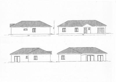 Maison plein pied 125m², plan