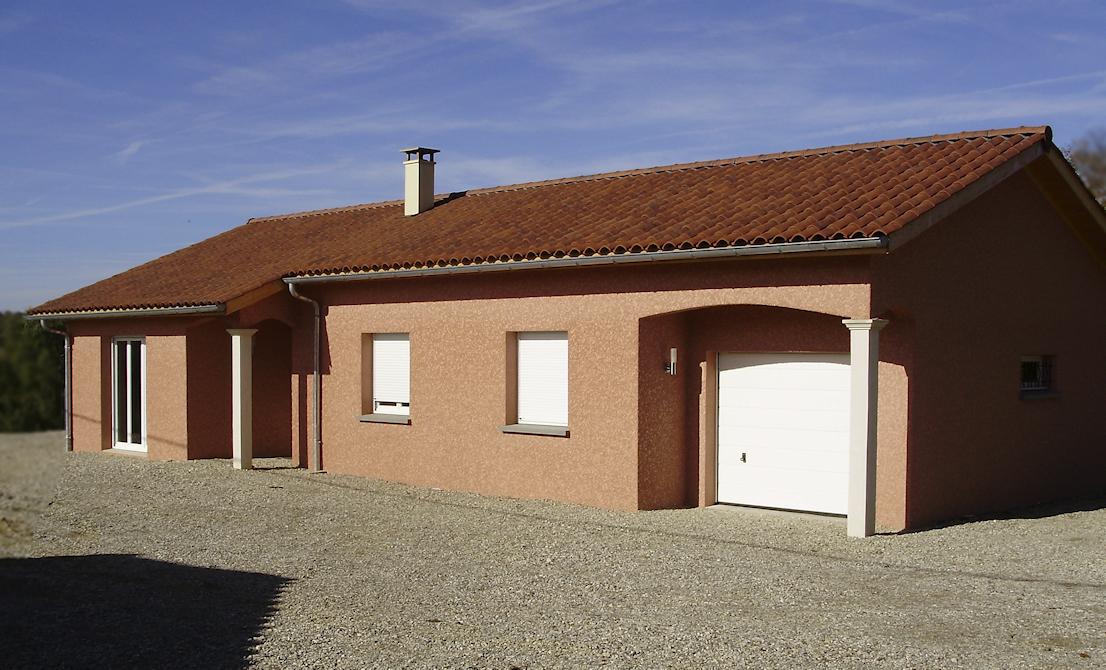 Maison plein pied de 95 70 m maisons lm constructeur for Constructeur de maison 70