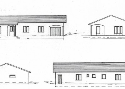 Plan maison de plein-pied-95,70 m²