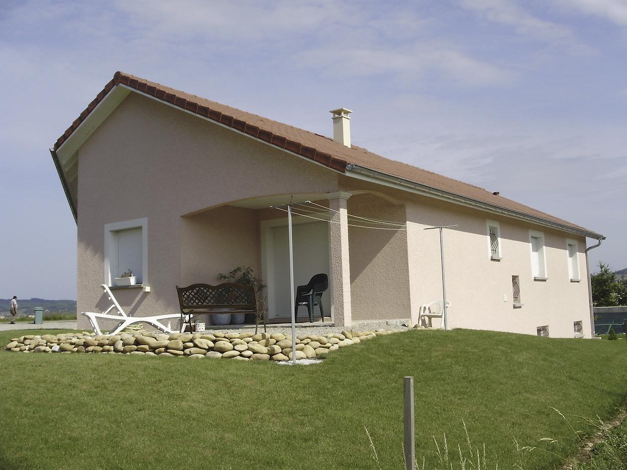 Maison sur demi sous-sol de 123m²