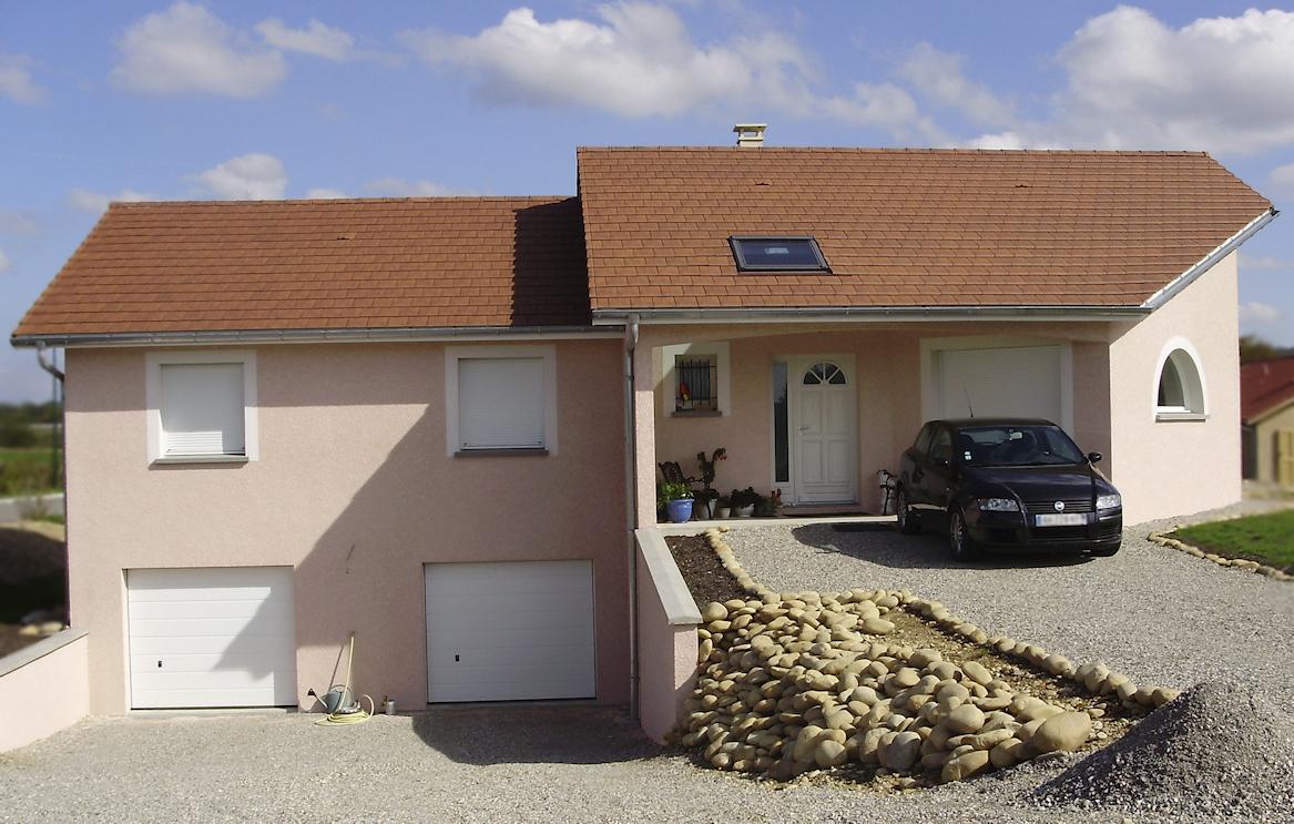 Maison de 123m² avec demi sous-sol